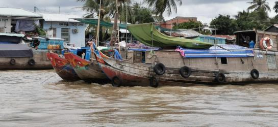 Meekong River Boats