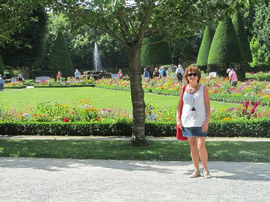 One of the many beautiful gardens in Europe
