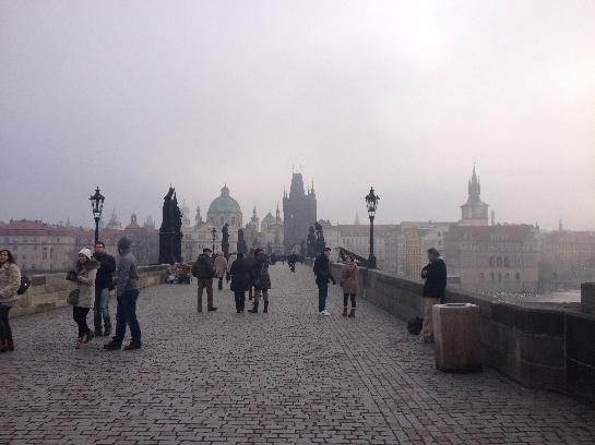 Moody Charlesworth Bridge Prague