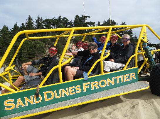 Fun in the dunes in Oregon