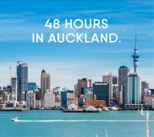 48 hours in Auckland.