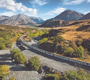 TranzAlpine & West Coast