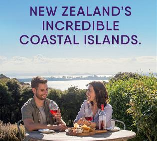 New Zealand's incredible coastal islands.